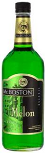 Mr. Boston Liqueur Melon 1.00l - Case of 12